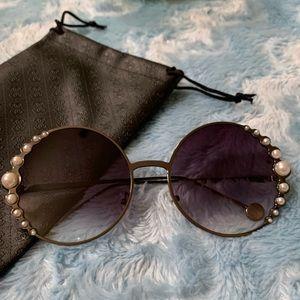 Oversized pearl sunglasses